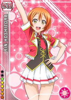 Hoshizora Rin SR card