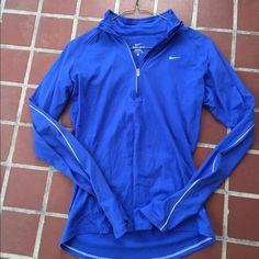 official photos 7e9bf 8ad4e Nike Women s Quarter Zip Long sleeve. Dri-fit material. Royal blue color.