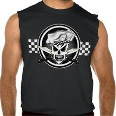 Skull Chef: Culinary Genius Sleeveless T-shirt