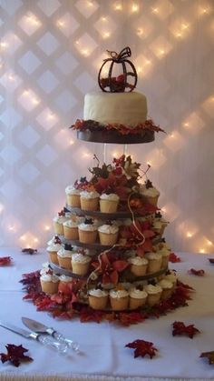 fall wedding cupcakes | Specialty Cupcakes | Candi's Cakes