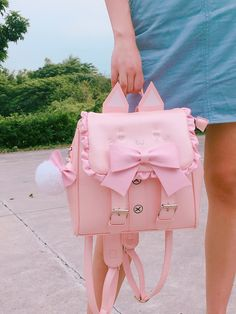 tips for choosing diaper backpacks Totoro Backpack, Baby Backpack, Kawaii Bags, Kawaii Clothes, Fashion Bags, Fashion Backpack, Leather Backpack, Pu Leather, Cute Backpacks