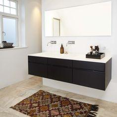 Form 2 // Black oak bathroom by Multifrom