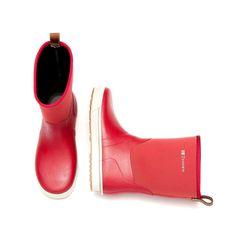 Red Garden Boots