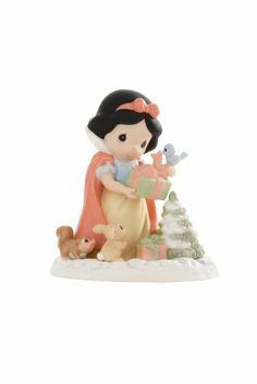 Precious Moments Disney Christmas Figurines: Cinderella - Snow White - The Season Is Most Joyous Amongst Friends Disney Figurines, Christmas Figurines, Collectible Figurines, Disney Precious Moments, Precious Moments Figurines, Cute Disney, Disney Art, Disney Stuff, Disney Images