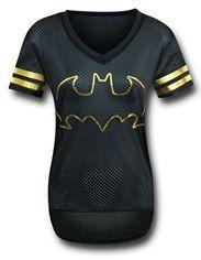 Batman Black Hockey Women's T-Shirt