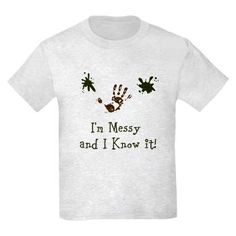 For your favorite little 'Messy One'