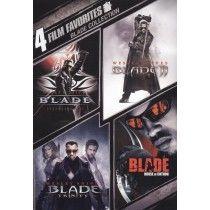 Blade Collection: 4 Film Favorites [2 Discs] (DVD) (Enhanced Widescreen for 16x9 TV) (Eng) $9.99