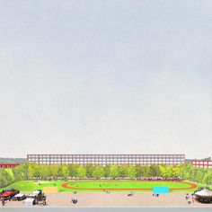 Dogma - Magnet. Masterplan for a new residential development, Bienne, 2014