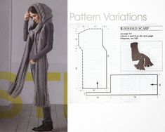 Tolles Teil, from Burdastyle Knitting Nr 1 hier gibt es das Heft http://www.burdastyle.de/burda-style/sonderhefte-kataloge/burda-stricken-2014_pid_803_11725.html