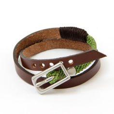 Double Wrap Bracelet - Green