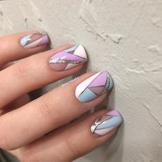 Geometric Nail Designs Ideas really stylish geometric nail designs Geometric Nail Designs. Here is Geometric Nail Designs Ideas for you. Fabulous Nails, Gorgeous Nails, Fancy Nails, Cute Nails, Nagellack Design, Geometric Nail Art, Geometric Shapes, Pretty Nail Art, Nagel Gel