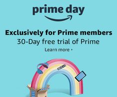 The Black Friday of Amazon, Also known as Prime Day is coming in 3 days, Save tons of $ on stuff you want to buy, sign up for a free Trial through this link: amzn.to/2NdWY8e
