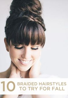 10 Braided Hairstyles! #beauty #hair