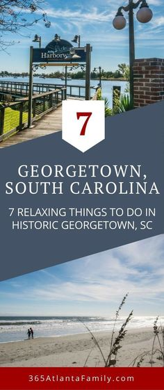 Head to South Carolina to enjoy the relaxing city of Georgetown. The neighboring areas of Pawley's Island, Murrell's Inlet, Litchfield Beach are also part of The Hammock Coast - sometimes overlooked because of their northern neighbor, Myrtle Beach. Don't make that mistake. For a calm, less crowded family vacation, check out our list of things to do in Georgetown, SC. #Georgetown #SouthCarolina #FamilyTravel #Vacation