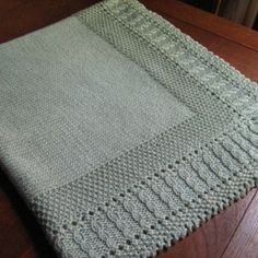 Free knitting pattern for Sleeping Beauty Baby Blanket and more cable afghan knitting patterns