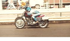 Terry Poovey #18, 1980 San Jose Mile