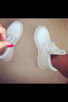 White timberlands WANT!!