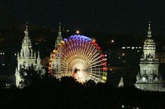 Santiago de Compostela at night