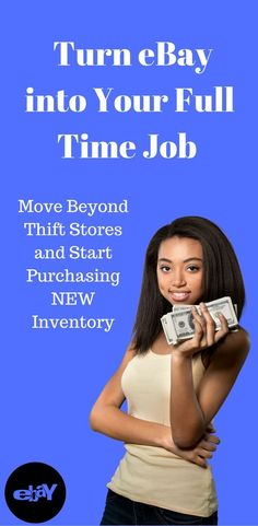 How to move beyond thrift store flips and turn eBay into your full time job. Selling on eBay. Increasing eBay profits.