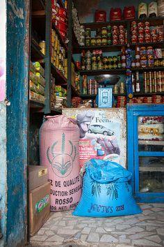 Senegal boutique. On every corner in Dakar.