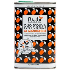 Olive Oil Stone Ground with Mandarins