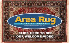 """Helping You To Get The Most Out Of Rugs!®""  Call Now For Expert Area Rug Cleaning! 734-973-2300"