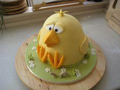 Baby chick cake. Very cute!