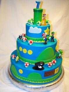 Super Mario Cake Recipe Ideas
