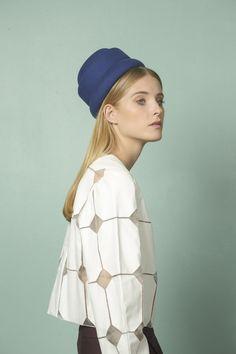 Felt Fascinator For Women /  Womens Hats Trendy / by JustineHats