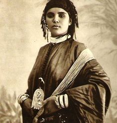 Orientalism - Woman, Morocco - Lehnert and Landrock, c 1924 by ronramstew, via Flickr