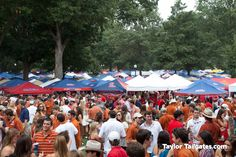 Ole Miss tailgating: Might not always win the game, but will always win the party!