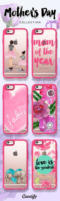 Mothers hold their children's hands for a while, but their hearts forever. Check out our Mother's Day collection now!  https://www.casetify.com/yazrajadesigns/collection | @casetify