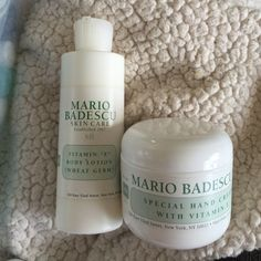 Mario body products Body lotion and hand cream bundle Makeup