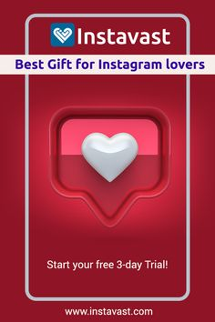 Instavast is a great gift for Instagram lovers! Try your free 3-day trial! #Instagram #instagramlovers #gift #christmas #instagrambot #SocialSelling #SocialMediaMarketing #Marketing #Growthhacking #socialmedia