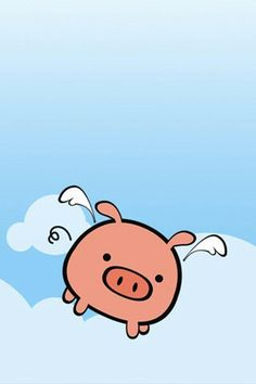 Pig with wings...