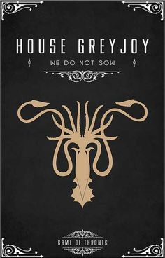 Are you a fan of Game of Thrones? Then you are going to love this amazing Game of Thrones poster series. Casas Game Of Thrones, Arte Game Of Thrones, Game Of Thrones Series, Game Of Thrones Party, Game Of Thrones Fans, Casa Greyjoy, Game Of Throne Poster, Geeks, House Sigil
