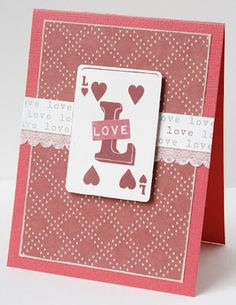 Valentine #3 from Gretchen McElveen.  Instructions on the blog!