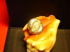 Ring , embossing and sculpting , zodiac fish , silver, Anello, sbalzo e cesello, zodiaco pesci, argento