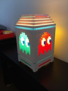 Lego Pacman light by PugsnLegos on Etsy