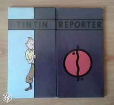 Hergé. Papier à lettre TINTIN REPOTER - 19,5 x 18 cm Les cigares du pharaon 9 enveloppes + 17 feuilles