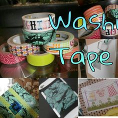In this video i will show you different ways u can use Washi Tape! Washi Tape Crafts, Duck Tape Crafts, Duct Tape, Crafts For Kids, Projects, Diy, Craft Tutorials, Hipster Stuff, Crafts For Children