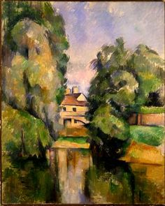 Paul Cezanne, Country House by the Water, c 1890
