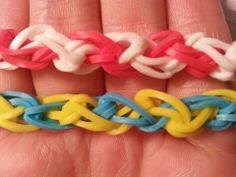 ▶ Spiral Bracelet-Rainbow Loom - YouTube