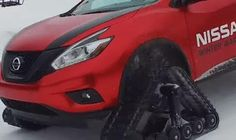 """ps: Nissan unleashes trio of aggressive """"Winter Warrio..."""