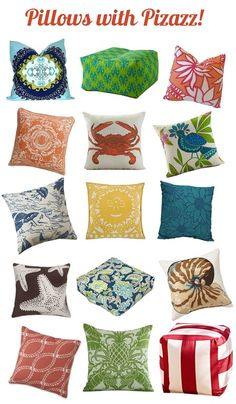 Better Homes & Gardens picks our Mojito Breeze outdoor pillow.