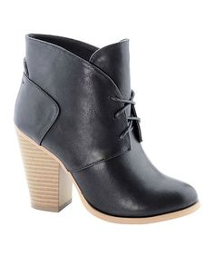 Another great find on #zulily! Anna Shoes Black Diane Bootie by Anna Shoes #zulilyfinds