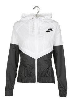 E-shop Nike - Veste De Sport Bicolore Blanc Nike pour femme sur Place des b69e5559059