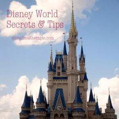Disney World Secrets & Tips
