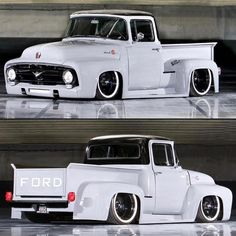 old ford trucks Old Ford Trucks, Old Pickup Trucks, Diesel Trucks, Big Trucks, 1957 Chevrolet, Custom Trucks, Custom Cars, Pickup Auto, Auto Ford