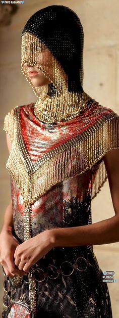Metal Fashion, Gold Fashion, Fantasy Costumes, Paco Rabanne, Parallel Universe, Silver, Saudi Arabia, Middle East, Money